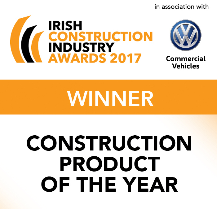 Irish Construction awards - Construction Product of the year