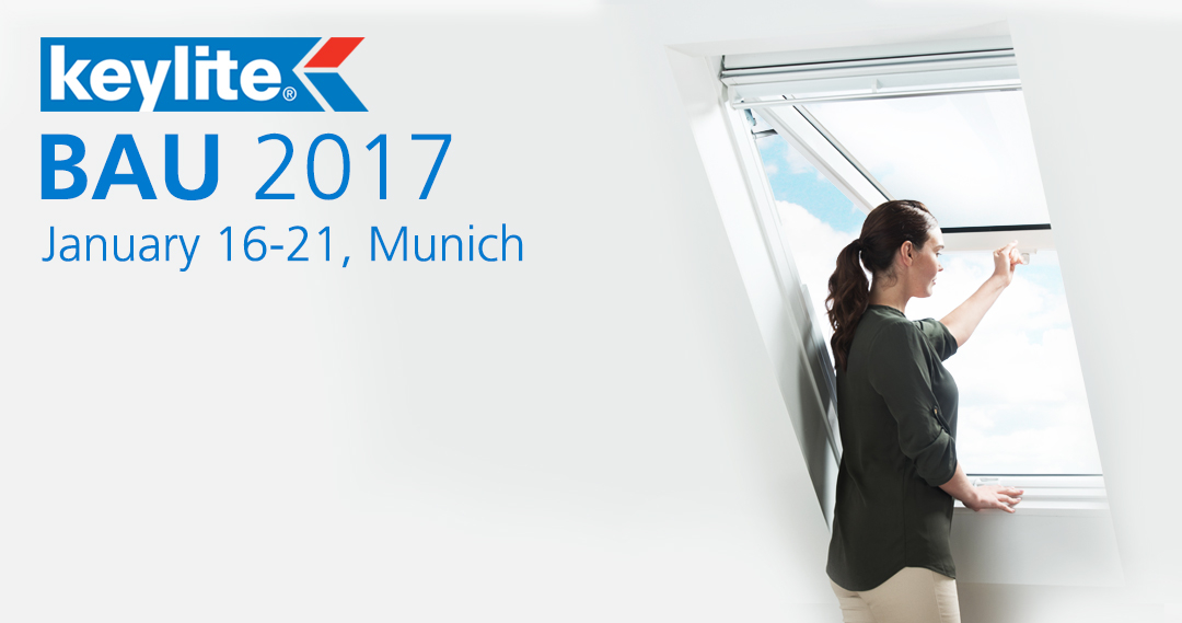 BAU 2017 - January 16th to 21st in Munich, Germany
