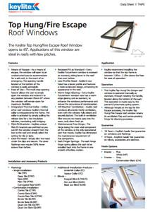 Roof Window Price List