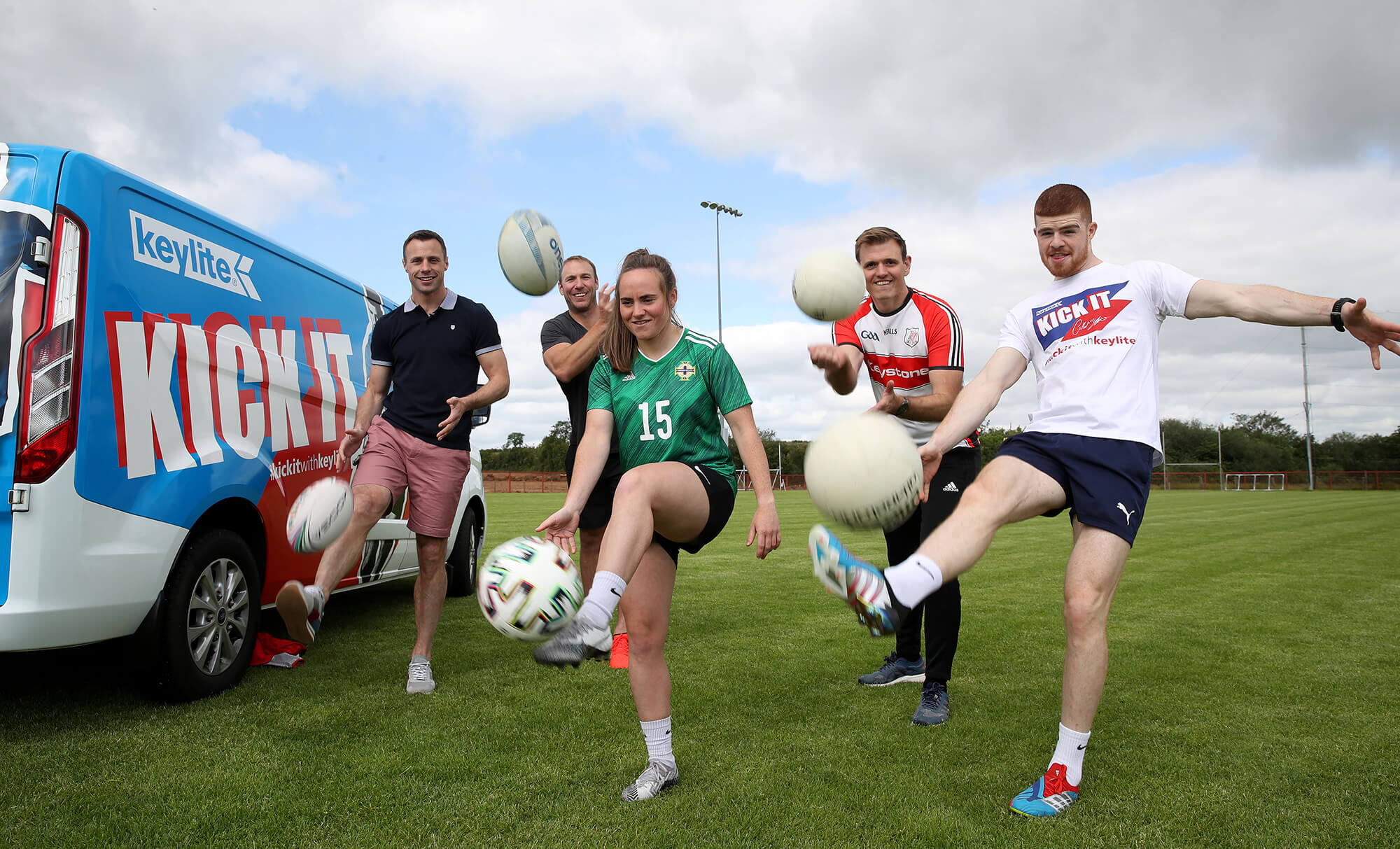 Join some of Ireland's biggest sports stars and #KickItWithKeylite